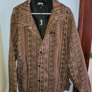 Stussy Coaches Tapestry Jacket XL